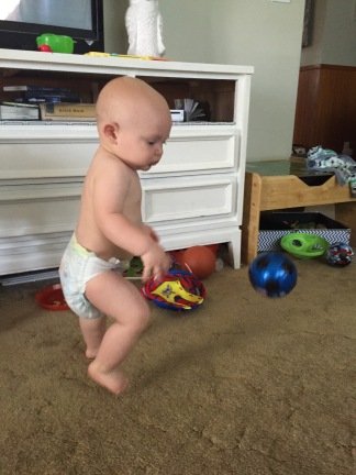 Playing a little soccer after surgery